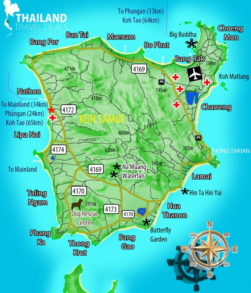 map-koh-samui