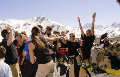 Party holiday in Ischgl